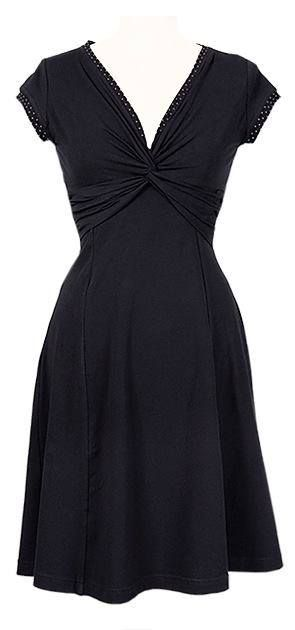 TWIST DRESS - BLACK http://ecouture.dk/basics/twist-dress-black.html?___store=gb&___from_store=gb  DRESS IN ORGANIC COTTON-JERSEY The dress is made from Cotton/Bamboo-jersey, which makes it very flexible and flatters all kinds of curves.
