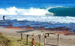 Jakes Point surf break #kalbarri Western Australia