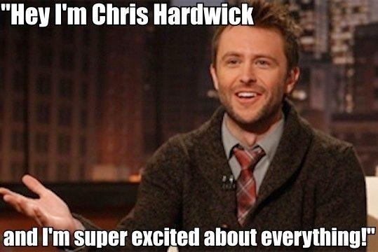 Look forward to watching Talking Dead almost as much as The Walking Dead. Chris Hardwick is so funny and I love how excited he is to talk about the show. They should have him guest star as a walker or something. It would complete his life.