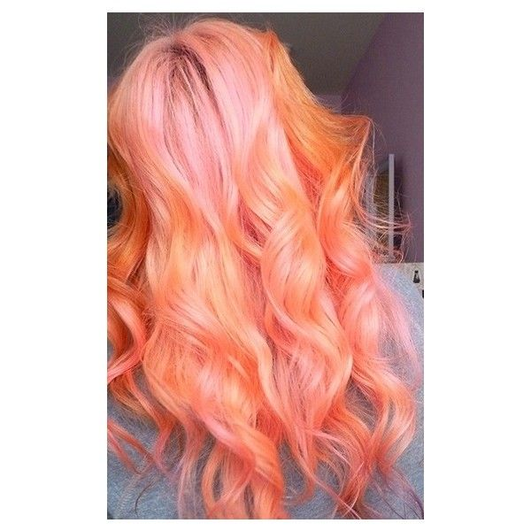 MANIC PANIC PRETTY FLAMINGO Coloured hair ❤ liked on Polyvore featuring hair