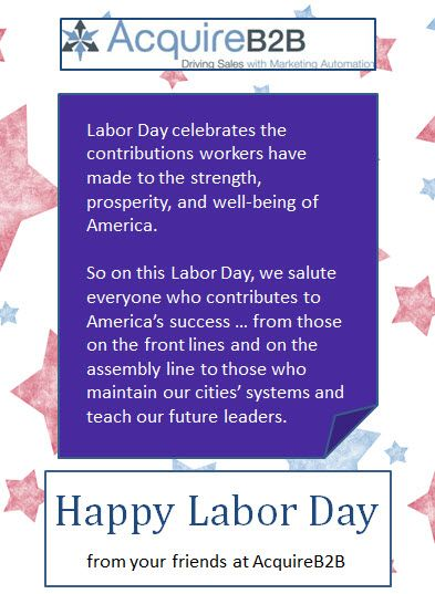 memorial day to labor day 2014