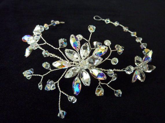 Swarovski Crystal Bridal Tiara Swarovski Crystal by glamourbysonja