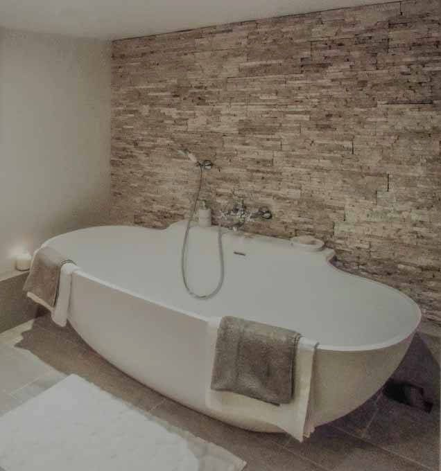 carrelage fausse pierre badezimmer