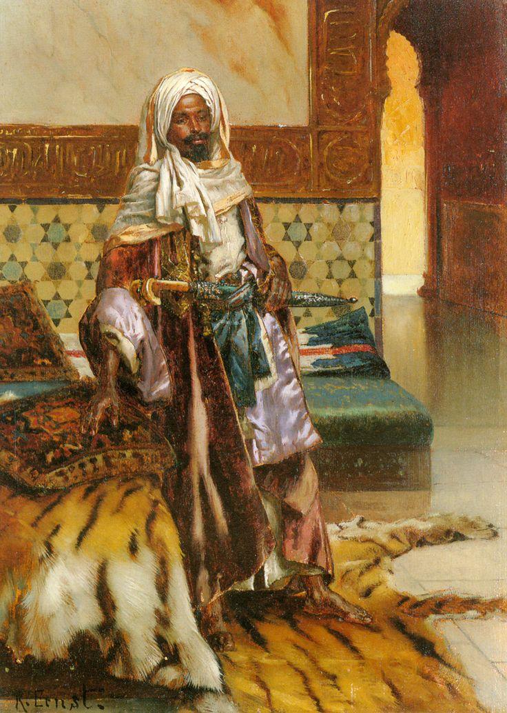 Le prince arabe, Rudolf Ernst (1854-1932).