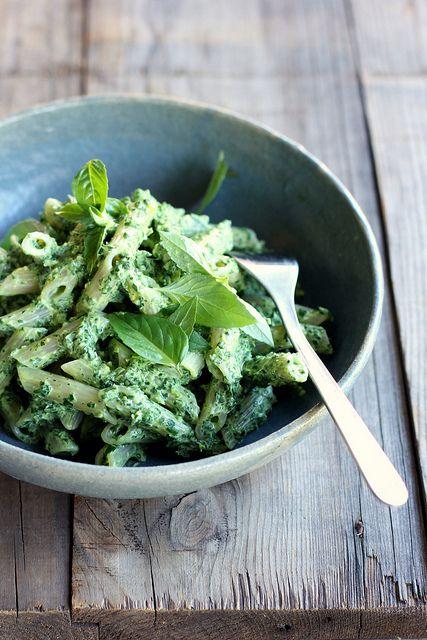 Green pasta   My Darling Lemon Thyme