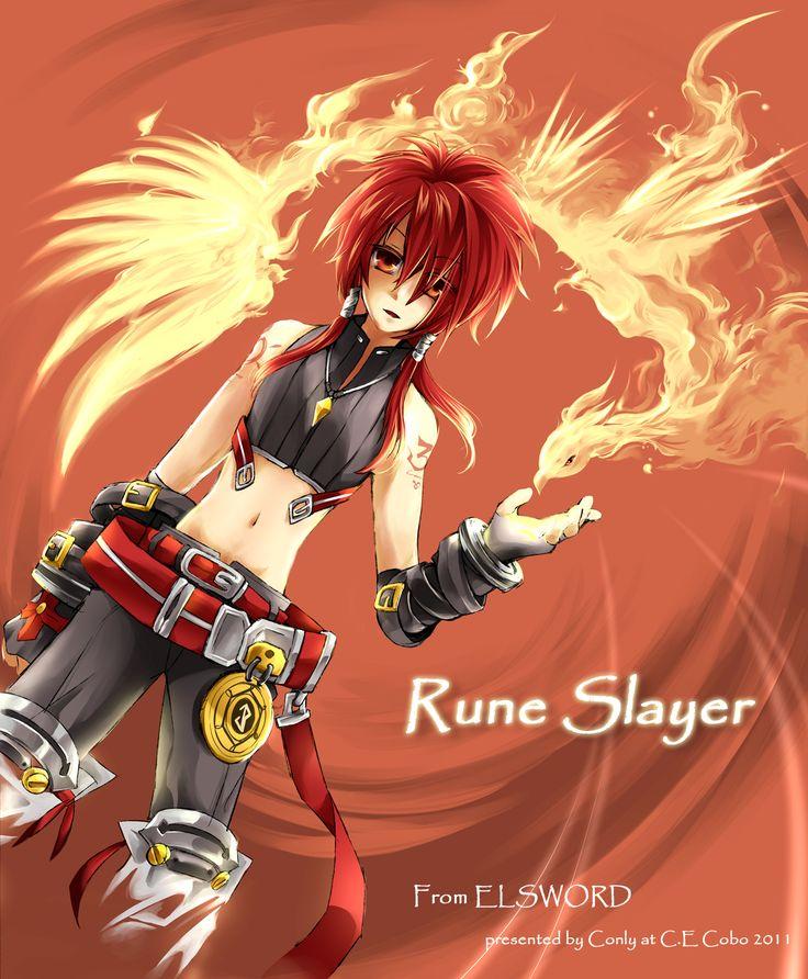 Rune Slayer (Elsword)/#947806 - Zerochan