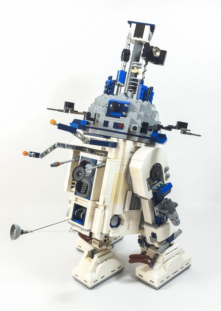 21 best lego instructions star wars images on pinterest lego instructions free lego and star - Lego starwars r2d2 ...