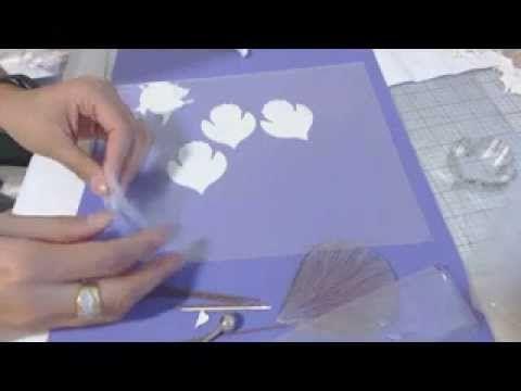 Porcelana Fria Flores: Paso a paso Orquidea Cymbidium / Porcelana Fría Arcilla primera parte