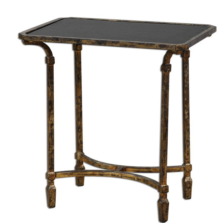 Uttermost 24363 Zion Metal End Table