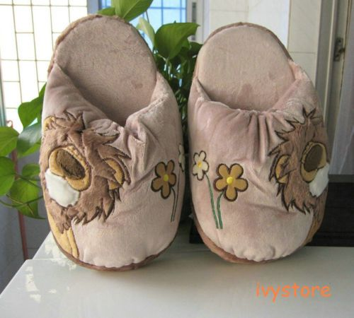 NICI Lion Plush Indoor Shoes Slippers US 5 5 6 6 5 7 7 5 New | eBay