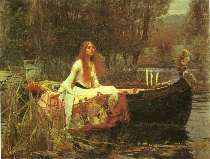 The Lady of Shalott, 1888 Clopin Sarabi