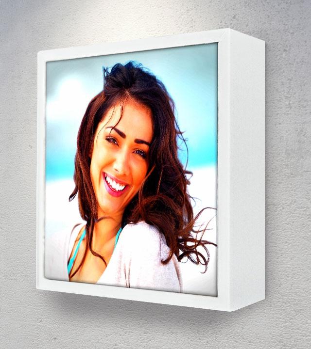 Frame 12x12 White