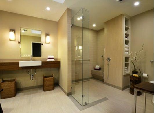 Barrier Free Bathroom Idea Home And Garden Design Ideas