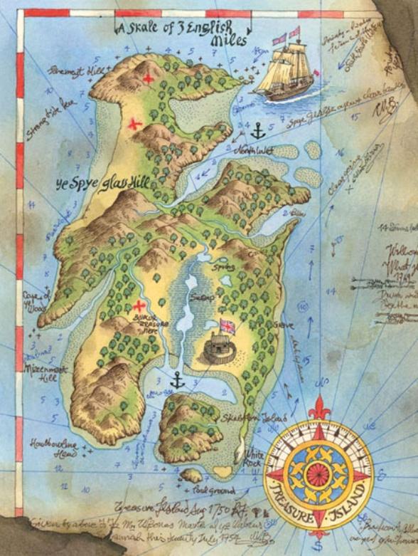 """L'isola del tesoro"""