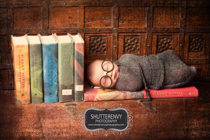 www.shutterenvyphotography.com  Newborn Photography, Baby, Harry Potter, Newborn Photographer