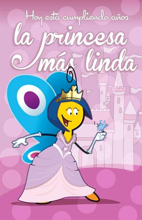 Princesita ¡Feliz cumpleaños! Dios te bendiga siempre. (✿◠‿◠)