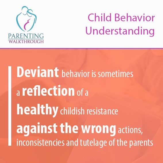 Deviant Behavior Is Sometimes A Reflection Of A Healthy