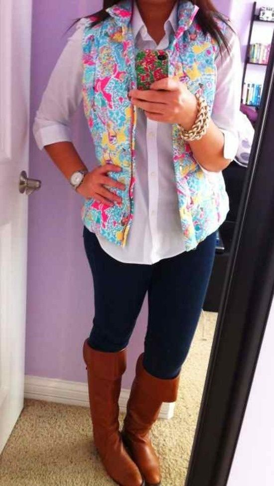 lilly vest and boots