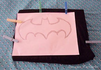 Esas cosas K nos molan: Diy Camiseta Batman