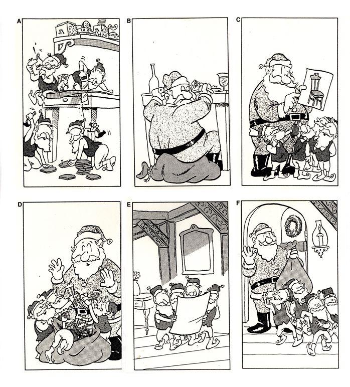 Images séquentielles Noël