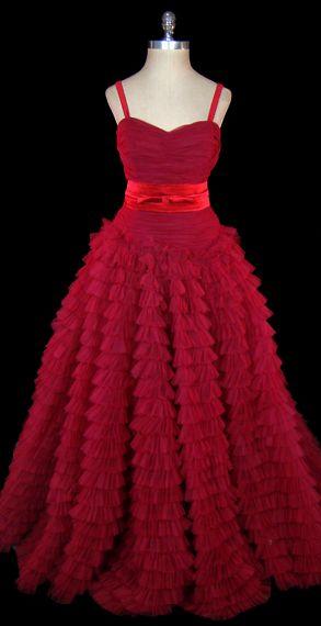 THE Dress Hattie Carnegie, 1950s.