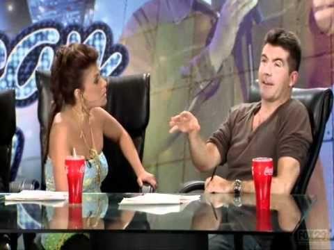 Simon Cowell and Paula Abdul - Saula arguements