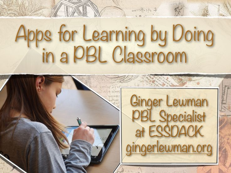 Apps for Learning by Doing in a PBL Setting - LiveBinder