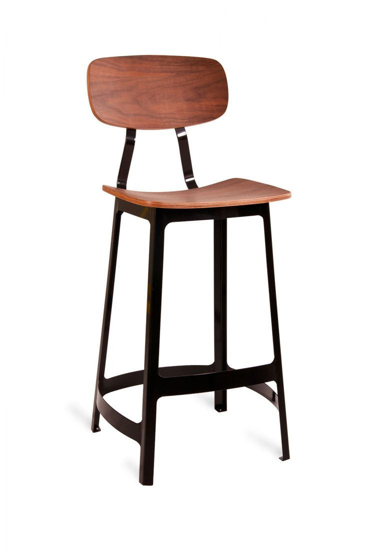 Habitus Bar Stool Black Industry West Whiskey Kitchen