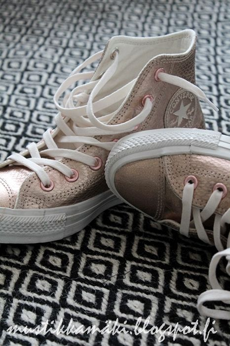 Copper converse. Classy for a wedding!!                              …