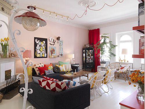 Here Lives The Swedish Designer And Illustrator Camilla Lundsten.