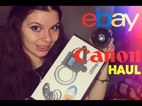 Ebay Haul #1 - Acessórios para Canon - YouTube