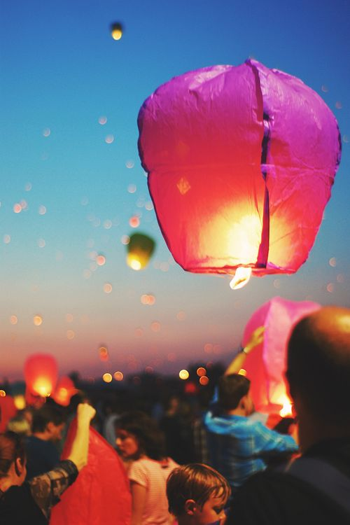 .Lighting up the world with colour