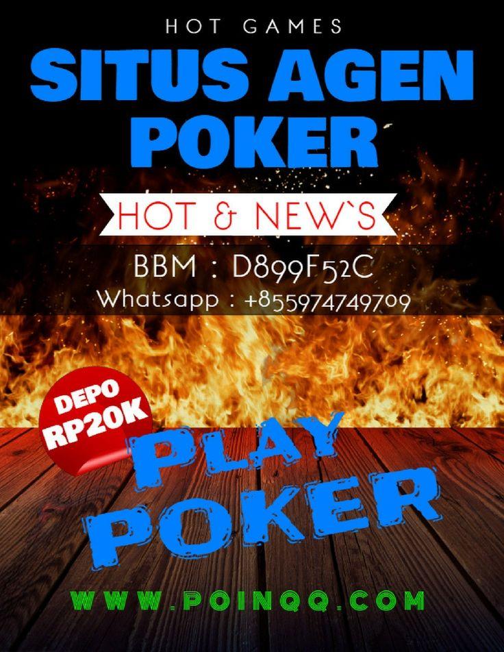 Situs Agen poker memperkenalkan permainan Agen poker, Domino QQ Online, Bandarq dan Bandar Poker permain baru yang seru abis untuk kita coba menangkannya setiap hari dan sepanjang masa