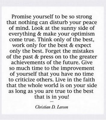 ░ Promise Yourself ░: Words Of Wisdom, Christian, Remember This, Life Mottos, Positive Thoughts, Things, Favorite Quotes, Living, Optimism