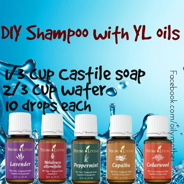 My friend over at positively spOILed inspired me to make my own chemical free shampoo today with Young Living oils! I love how my hair looks and feels right now! It's neither greasy nor dry, and has great body and shine! Her original recipe used all these oils without the Copaiba and added Rosemary.