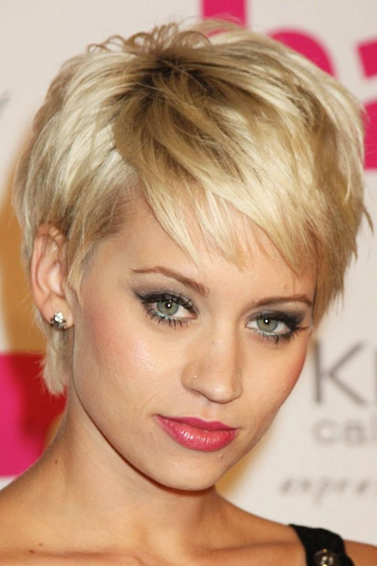 14 best short hair cuts for square faces images on pinterest