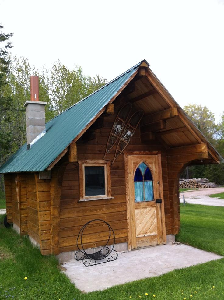 Authentic Finnish sauna in Ontonagon