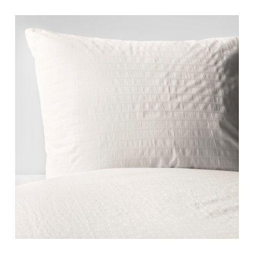 IKEA - OFELIA VASS, Duvet cover and pillowcase(s), Full/Queen (Double/Queen), , Twin includes 1 Queen pillowcase, Full/Queen includes 2 Queen pillowcases and King includes 2 King pillowcases.