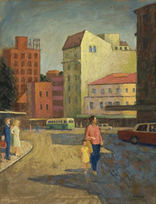 Roland Wakelin:  Manly (1964)