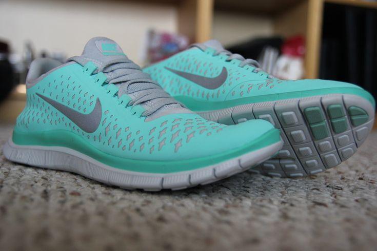 Tiffany blue Nikes.