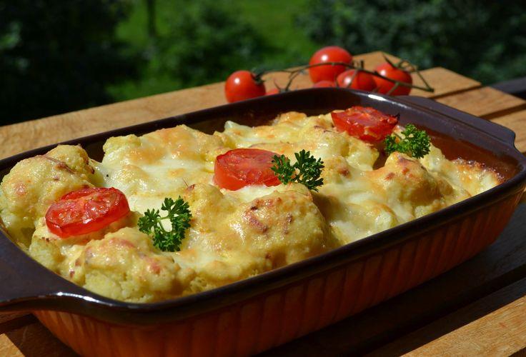 Mozzarellás rakott karfiol Recept képpel - Mindmegette.hu - Receptek