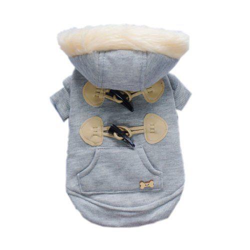 Trendy Toggle Dog Coat for Dog Jacket Cozy Dog « Pet Lovers Ads