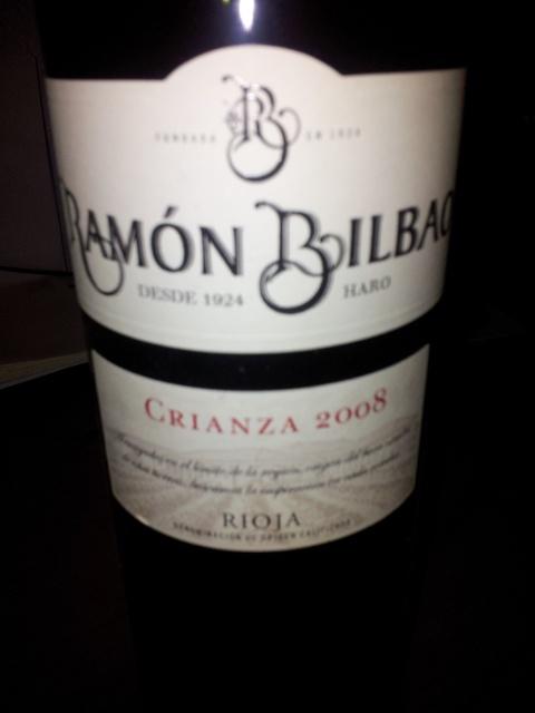 Ramón Bilbao Crianza 2008