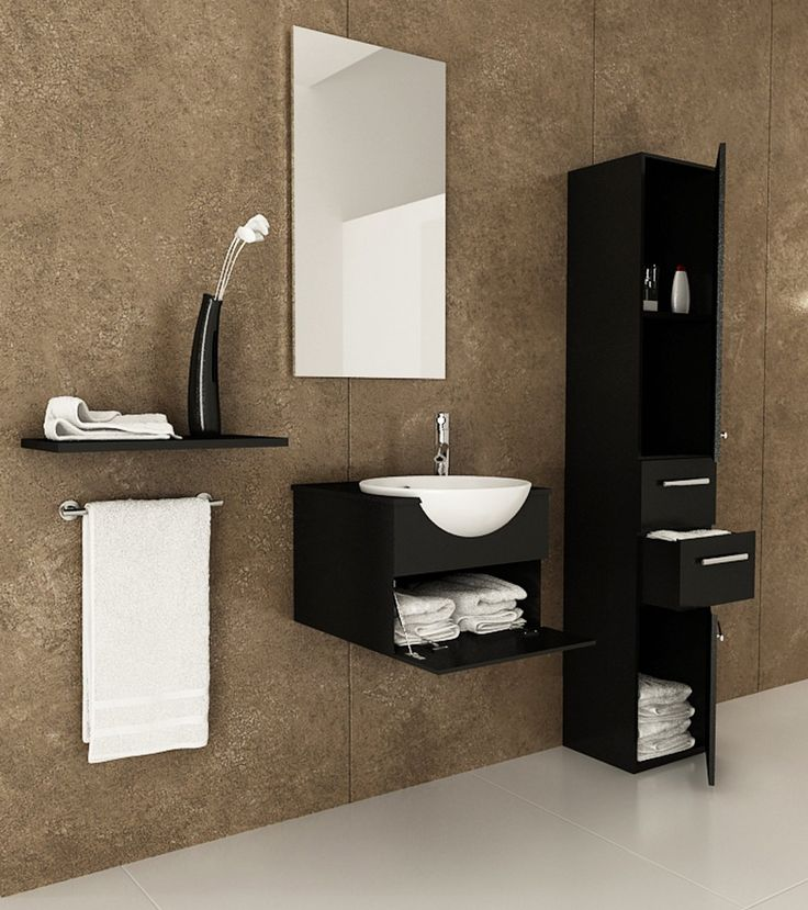 24 Best Images About Wall Mounted Bathroom Vanities On Pinterest