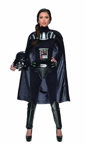 Disfraz Darth Vader Star Wars P/ Dama - Mascara Y Traje - $ 1,750.00