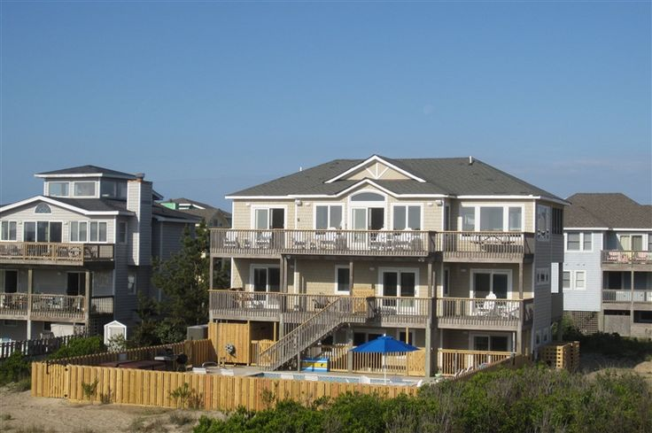 Barefoot Bungalow 278 L Corolla Nc Outer Banks Vacation Rental Home L Oceanfront Home With