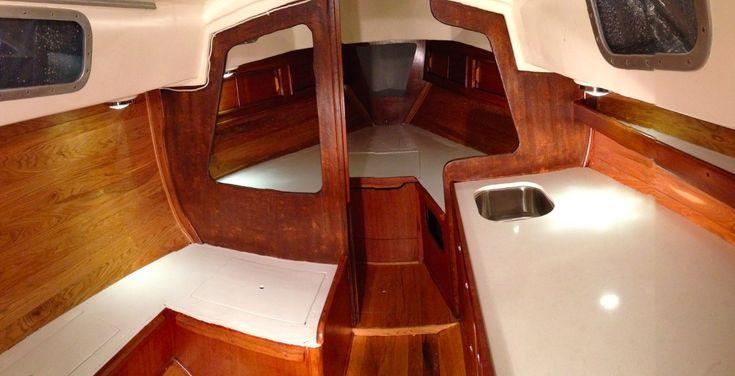Afbeeldingsresultaat voor sailboat interior design