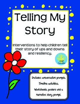 Using a more narrative therapy approach, this intervention helps children and teens communicate about their lives have been like and communicate their ups and downs in a non-threatening manner.  Originally created for children who where undergoing major life changes, such as CPS involvement, family change or adoption, but has been helpful working with children from all different backgrounds. Includes activities, games, worksheets and conversation starters.