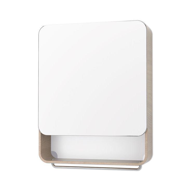 Articolo: UNIVERSAL8005Questo pensile per il bagno di Universal Expert è la soluzione ideale per i bagni di ogni dimensione, dai più grandi ai più piccoli. Ha una struttura in legno impiallacciato e acciaio, con l'anta a finitura specchio per garantire la massima discrezione e sposarsi con qualunque stile di arredo. Questo mobile contenitore assolve due funzioni in un solo oggetto: tiene tutto in ordine, ben nascosto dietro lo specchio, e ti consente di farti bella in tutta comodità. I 2…