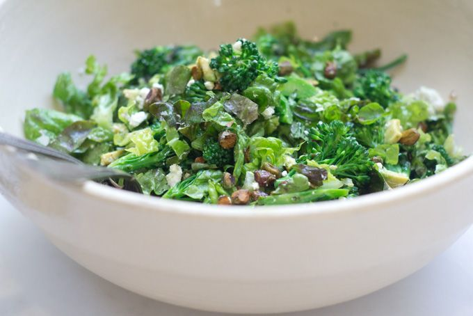 Another gem from 101 Cookbooks! A super green, fresh meal #salad